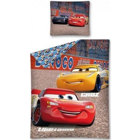 Pościel dziecięca Auta Cars 320 DETEXPOL rozmiar 160x200 cm