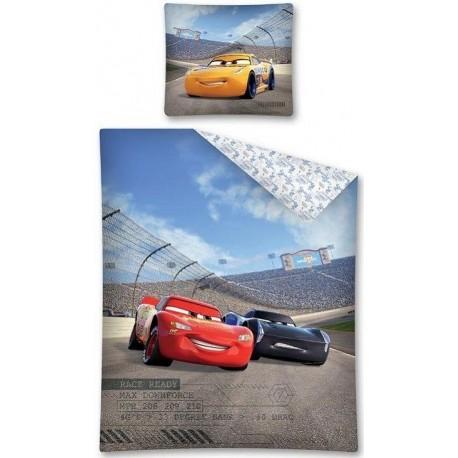 Pościel dziecięca Auta Cars 344 DETEXPOL rozmiar 160x200 cm