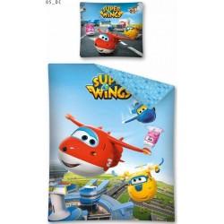 Pościel dziecięca Super Wings 05 DETEXPOL rozmiar 160x200 cm
