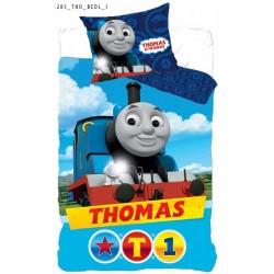 Pościel dziecięca Thomas 603 DETEXPOL rozmiar 160x200 cm