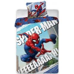 Pościel dziecięca Spiderman Człowiek Pająk 4706 FARO rozmiar 160x200 cm