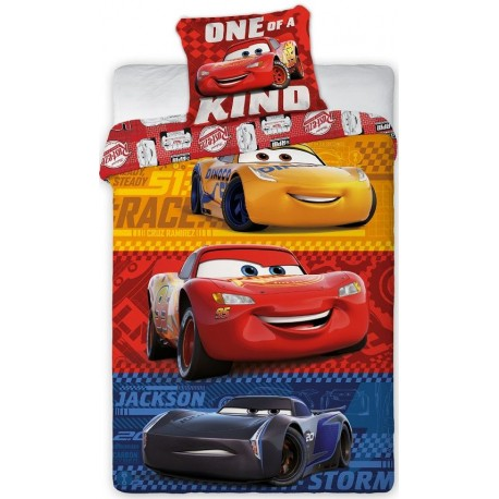 Pościel dziecięca Cars Auta 4720 FARO rozmiar 160x200 cm