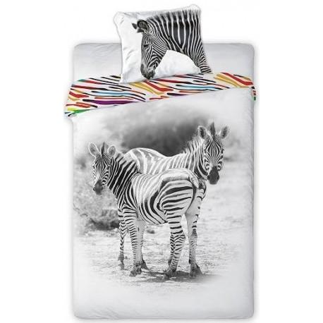 Pościel dziecięca Zebra 5659 FARO rozmiar 160x200 cm