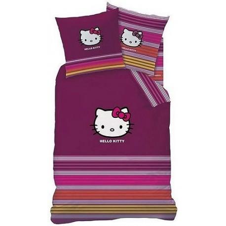 Pościel dziecięca Hello Kitty 489 CTI rozmiar 160x200 cm