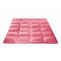 Kołdra półpuchowa różowa AMW 2 kg rozmiar 160x200 cm