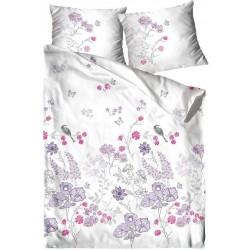 Pościel Satynowa Aroma biała różowa fioletowa FROTEX rozmiar 160x200 cm