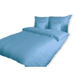 Pościel Satynowa jednobarwna niebieska 009 DARYMEX rozmiar 140x200 cm
