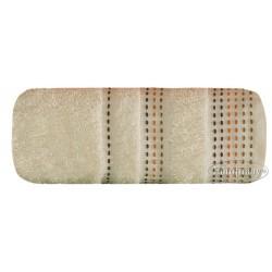 Ręcznik frotte Pola Kremowy 70x140 WYPRZEDAŻ