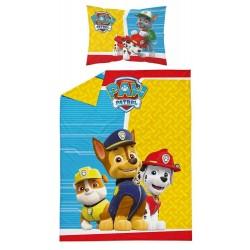 Pościel dziecięca Psi Patrol 537 DETEXPOL rozmiar 100x135 cm