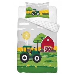 Pościel dziecięca Traktor 191 DETEXPOL rozmiar 100x135 cm
