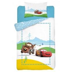Pościel dziecięca Cars Auta 221 DETEXPOL rozmiar 100x135 cm