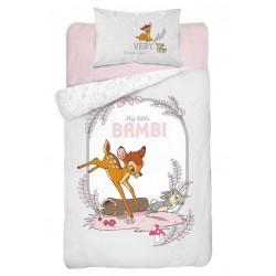 Pościel dziecięca Bambi 214 DETEXPOL rozmiar 100x135 cm