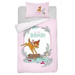 Pościel dziecięca Bambi 207 DETEXPOL rozmiar 100x135 cm