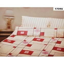Pościel Satynowa ANDROPOL 17346 rozmiar 140x200