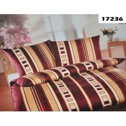 Pościel Satynowa ANDROPOL 17236 rozmiar 180x200