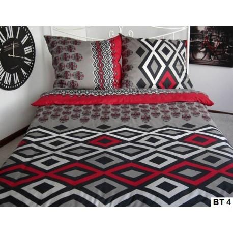 Pościel Satynowa Sweet Home BT 4 rozmiar 160x200 cm