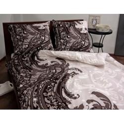 Pościel Satynowa ANDROPOL Sweet Home 956-1 rozmiar 160x200 cm