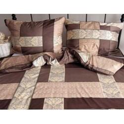 Pościel Satynowa ANDROPOL Sweet Home 960-1 rozmiar 160x200 cm