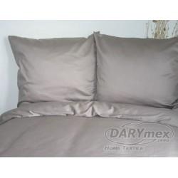 Pościel Satynowa jednobarwna Popiel 024 DARYMEX 160x200 cm