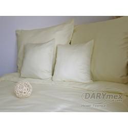Pościel Satynowa jednobarwna Krem 155 DARYMEX 160x200 cm