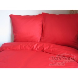 Pościel Satynowa jednobarwna Czerwony 029 DARYMEX 160x200 cm