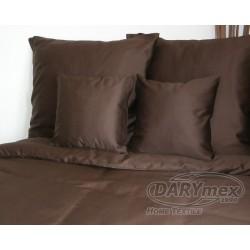 Pościel Satynowa jednobarwna Brąz 80053 DARYMEX 200x220 cm
