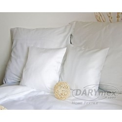 Pościel Satynowa jednobarwna Biała 603 DARYMEX rozmiar 140x200 cm