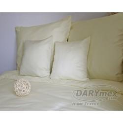 Pościel Satynowa jednobarwna Krem 155 DARYMEX rozmiar 180x200 cm