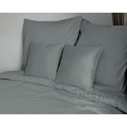 Pościel Satynowa jednobarwna Jasny Szary 037 DARYMEX rozmiar 180x200 cm