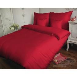 Pościel Satynowa jednobarwna Czerwona 029 DARYMEX rozmiar 180x200 cm