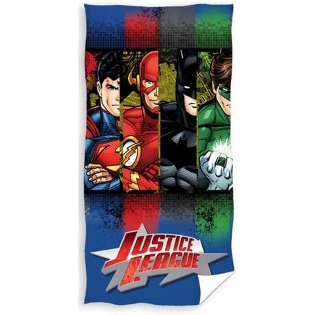 Ręcznik Liga Sprawiedliwych 0232 CARBOTEX rozmiar 70x140 cm