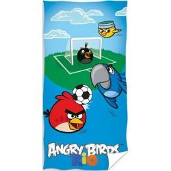 Ręcznik Angry Birds Rio 5084 CARBOTEX rozmiar 70x140 cm