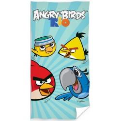 Ręcznik Angry Birds 5077 CARBOTEX rozmiar 70x140 cm