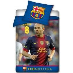 Pościel FC Barcelona Andrés Iniesta 096 CARBOTEX rozmiar 160x200 cm