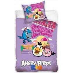 Pościel Angry Birds 749 CARBOTEX rozmiar 160x200 cm