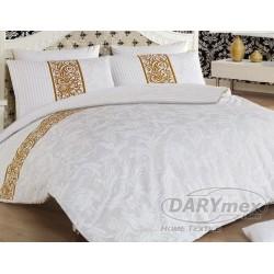 Pościel Satynowa Angelica White DARYMEX rozmiar 160x200 cm