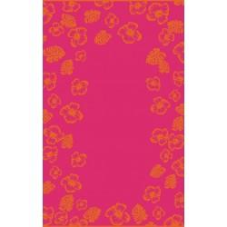 Ręcznik Plażowy Hibiskus Róż 7642/1 ZWOLTEX rozmiar 100x160 cm