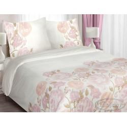 Pościel Bawełniana Rosa różowa EUROFIRANY rozmiar 220x200 cm