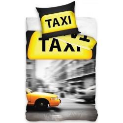 Pościel Taxi Żółta CARTOTEX rozmiar 140x200 cm