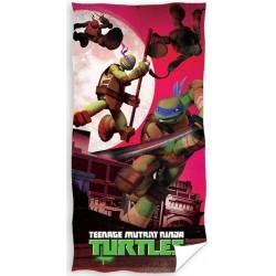 Ręcznik Wojownicze Żółwie Ninja 2106 CARBOTEX rozmiar 70x140 cm