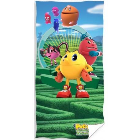 Ręcznik Pac Man 0560 CARBOTEX rozmiar 70x140 cm