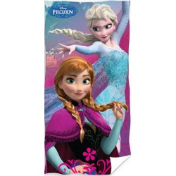 Ręcznik Frozen Kraina Lodu 0584 CARBOTEX rozmiar 70x140 cm