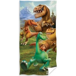 Ręcznik Dinozaur 1093 CARBOTEX rozmiar 70x140 cm
