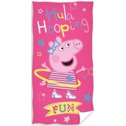 Ręcznik Świnka Peppa 0515 CARBOTEX rozmiar 70x140 cm