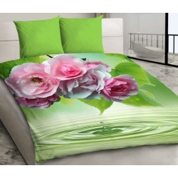 Pościel 3D z Mikrosatyny Bed&You 1030 rozmiar 160x200 cm