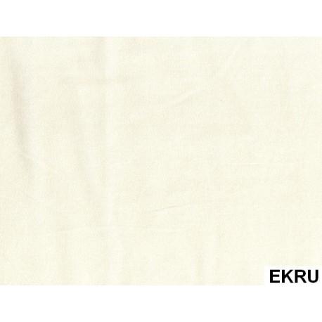 Prześcieradło Satynowe Ecru ANDROPOL rozmiar 160x210 cm