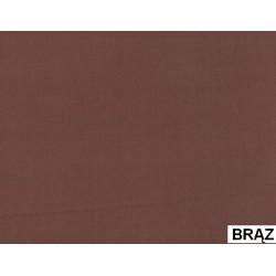 Prześcieradło Satynowe Brązowe ANDROPOL rozmiar 160x210 cm