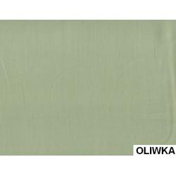 Prześcieradło Satynowe Oliwkowe ANDROPOL rozmiar 160x210 cm