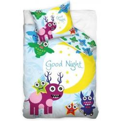 Pościel dziecięca Night Dobranoc 137 CARBOTEX rozmiar 160x200 cm