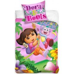 Pościel dziecięca Dora 830 CARBOTEX rozmiar 160x200 cm